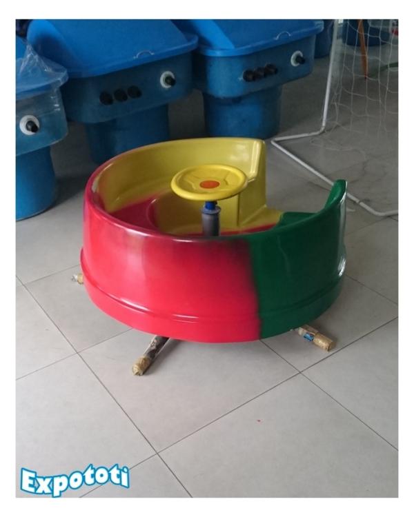 Calesita taza chica para niños